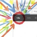 Google+ och Search+